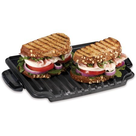 George Foreman 5-Serving Grill with Removable Plates, Red, GRP0004R by George Foreman Grillls (Image #4)