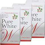 Shiseido Pure White W for Your Skin 270 Tablets 3 Bottles