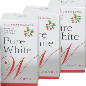 Shiseido Pure White W for Your Skin 270 Tablets 3 Bottles by Shisheido from Japan