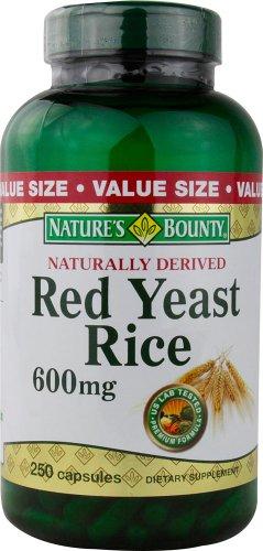 Nature's Bounty Red Yeast Rice, 600 mg, 500 Capsules Bounty -heku by Nature's Bounty