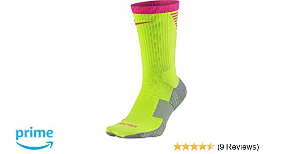 Amazon.com : NIKE Squad Crew Football Sock [Volt] (S) : Sports & Outdoors