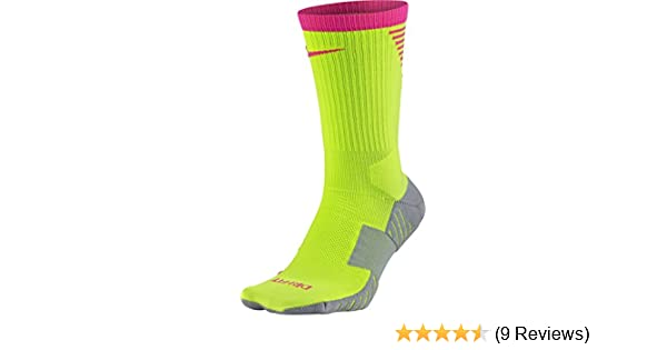 b266066b4590 Amazon.com   Nike Squad Crew Football Sock  Volt  (S)   Sports   Outdoors