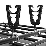 kemimoto 2pcs ATV Gun Holder Rack Adjustable Gun Mount 4/5''-3/25'' Compatible with Polaris Sportsman Motorcycles Scooter Mountain Bicycles Pushcarts Shooting Carts Golf Cart Boat Bow: more info