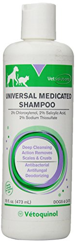 Vetoquinol 411627 Universal medic shampoo,16 oz