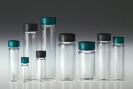 - Qorpak GLC-00999 Clear Borosilicate Vial with 24-400 Green Thermoset F217 and PTFE Lined Cap, 27.25 mm x 57.5 mm Size, 20 mL Capacity (Pack of 72)