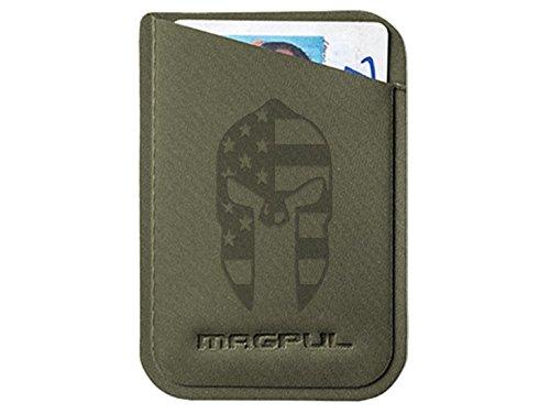 Magpul DAKA Micro Wallet MAG762 ODG Laser Engraved Spartan Helmet US Flag
