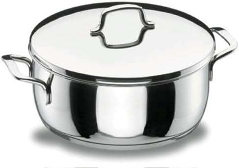Lacor - 90024 - Cacerola Con Tapa 24 Gourmet Inox: Amazon.es ...