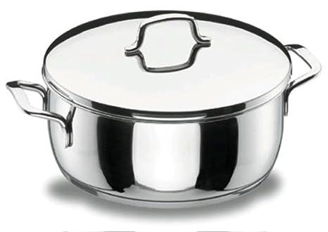 Lacor - 90024 - Cacerola Con Tapa 24 Gourmet Inox