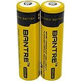 BANTRE 18650 batería Recargable de Iones de Litio 2600mah 3.7V Regalo