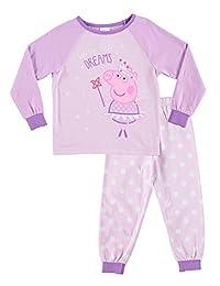 Peppa Pig Pajamas for Toddlers | 2-Piece Sleepwear | Polka Dot Girls PJ Set - 3T