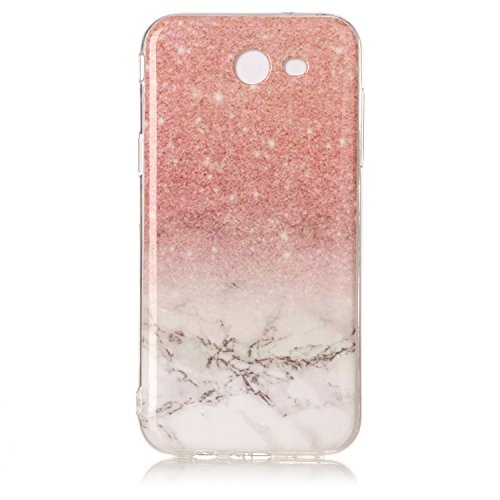 NEXCURIO Galaxy J3 Emerge/Express Prime 2/Amp Prime 2/J3 Luna Pro/J3 Prime Case Marble Soft Silicone Shockproof Scratch Resistant Protective Cover for Samsung Galaxy J3 (2017) - YHU102188#2 -