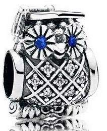Pandora Women's 791502nsb Graduate Owl Charm