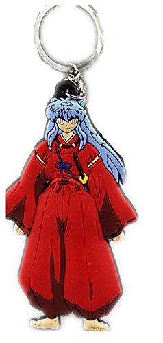 Figure Inuyasha Keychain - Inuyasha PVC Figure key Ring Pendant Keychain Pendant Anime Gift