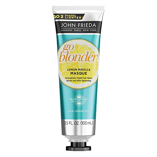 John Frieda Go Blonder Lemon Miracle Masque, 3.5 Fluid Ounce ()