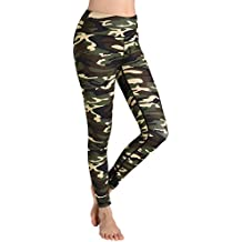 "Weintee Women's Yoga Leggings 25"" Non See-Through Workout Pants"