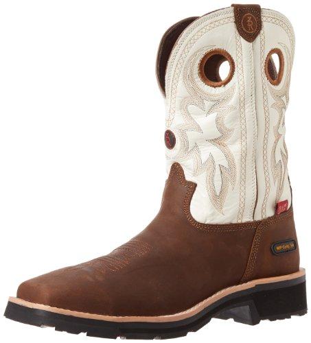 Tony Lama Work Boots Mens Composite Toe Waterproof Bark RR33