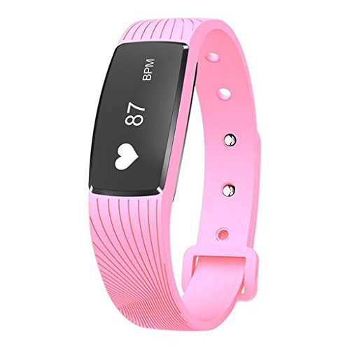 Zeshlla Sport Pedometer IP67 Waterproof Wristband With Heart Rate Monitor Blood Pressure Test Breathing Exercise Bracelet Touch Screen Smart - Beacon Avalanche Best