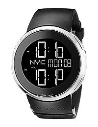Gucci Men's I-Gucci Watch Black YA114202