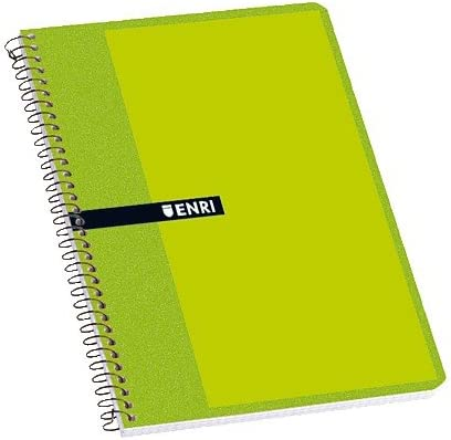 Enri 100430114 - Cuaderno, 4 x 4 mm, 40 hojas, tapas blandas ...