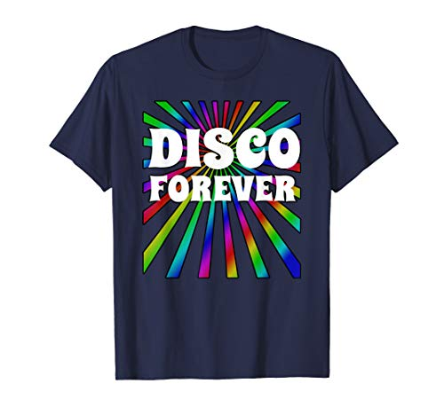 Disco Forever Groovy 70's Disco Costume Theme Party Shirt -