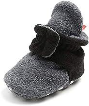 WANDWAN Unisex-Baby Newborn Velvet Winter Warm Boots First Walkers Shoes Winter Socks