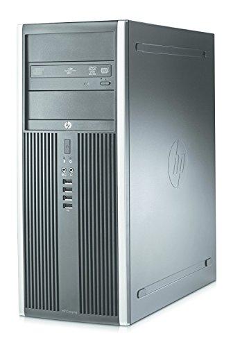 HP Compaq Elite 8300 TW MiniTower High Performance Business Desktop PC, Intel Quad Core i7-3770 3.4GHz, 8GB RAM, 128GB SSD + 500GB HDD, DVD, VGA, USB 3.0, WiFi, Windows 10 Pro (Certified Refurbished)