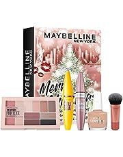 Maybelline New York Mini adventskalender brooklyn, fem produktöverraskningar vid varje evenemang och jul, minikalender med 5 dörrar