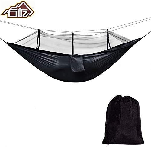 Viajes Actividades al Aire Libre: Camuflaje para relajaci/ón Hamaca de Camping con mosquitera para Cama de Matrimonio Shoppy Star