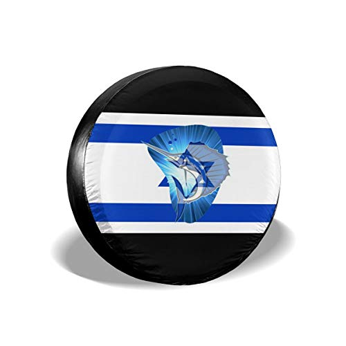 - A16U-LTZ Spare Tire Covers Sailfish Israel Flag Dust-Proof Waterproof Sun Protectors Universal Wheel Cover Fit for RV,SUV,Trailer and Many Vehicle 14 15 16 17 Inch