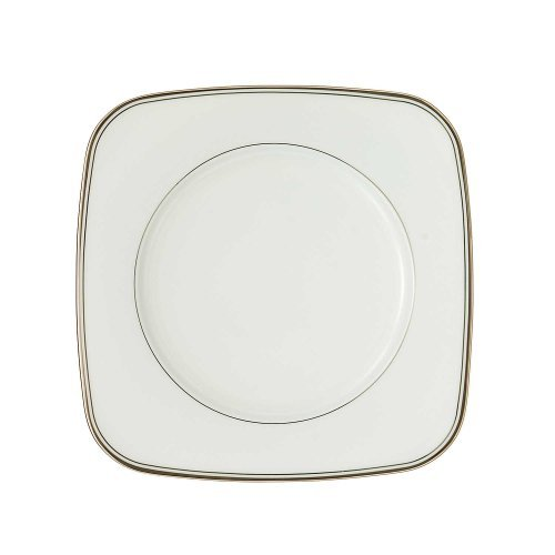 Waterford China Kilbarry Platinum 9-inch Square Salad -