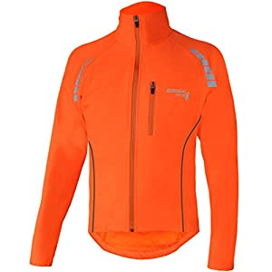 Brisk Bike Highly Visible Lightweight Night Vision Cycling Jacket cycling jackets for men cycling jacket for women