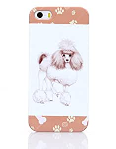 Iphone 5 Iphone 5s Case Venoka Popular Dog Poodle Pattern