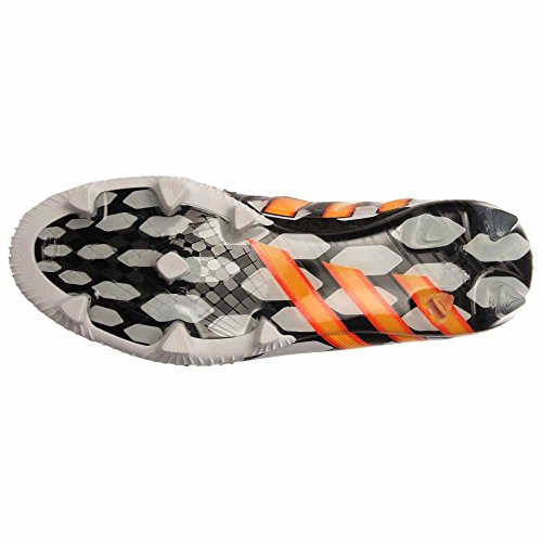 Adidas Predator Instinct Lz Fg Battle Pack M19888 Nero / Bianco Da Calcio Uomo Stivali Tacchetti Cblack, Sogold, Ftwwht