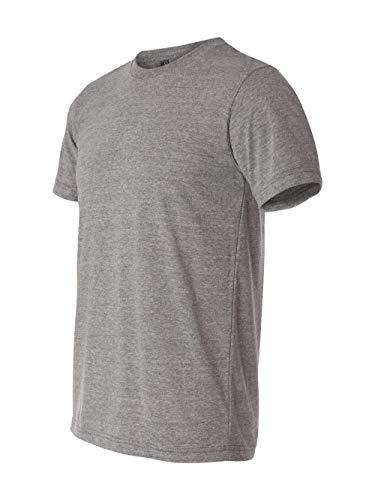 T-shirt Blend Polyester - Canvas 3413 Unisex Triblend Short-Sleeve T-Shirt, Grey, Extra Large
