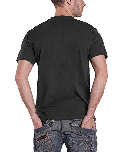 Jack-Daniels-Distilled-Classic-Logo-Official-Mens-Grey-T-Shirt