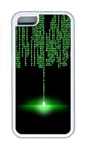 iPhone 5C Case, iPhone 5C Cases - Matrix Custom Design iPhone 5C Case Cover - Polycarbonate¨C White