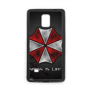 Personalized Durable Cases Samsung Galaxy Note 4 N9108 Cell Phone Case Black Resident Evil Afghn Protection Cover