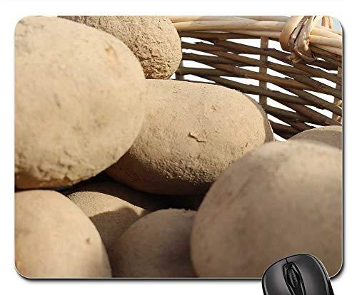 Mouse Pad - Potatoes Basket Lantarbeit Bauer Bio Nature ()