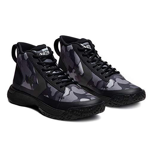 Converse Men's Star Series BB Basketball Shoes (11, Black/Mason/Dolphin) (Men Shoes Basketball Converse)