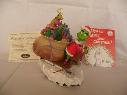 Hallmark Dr. Seuss Collection Merry Grinchmas How the Grinch Stole Christmas Ceramic Figurine