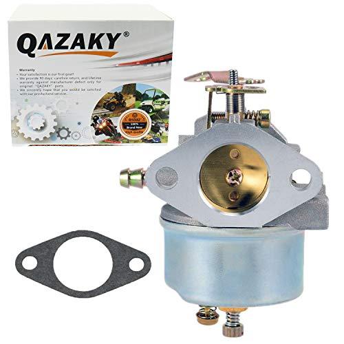 - QAZAKY Carburetor Replacement for Tecumseh 632110 632111 632334 632370 632536 640105 632334A 632370A HM70 HM80 HMSK80 HMSK90 HM100 HMSK100 OHSK110 OHSK120 OHSK125 Snowblower Generator Chipper Shredder