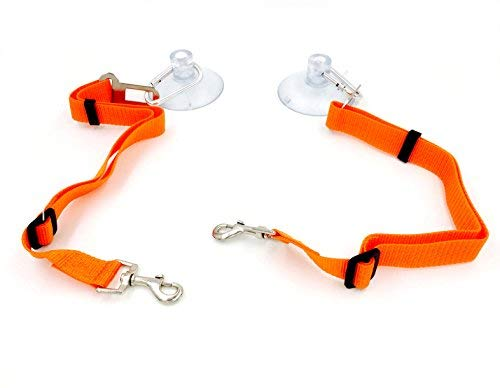 Aiboco Dog Bath Grooming Restraint System Keep Pet in Tub 2 Pack