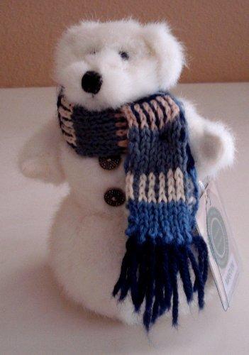 - Boyds Bears Marvin Snowman Bear Plush - 7 Inches Tall