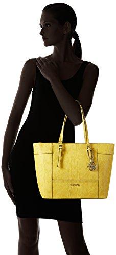 Guess LZ453523 Sac Shopper Femme Synthétique Jaune TU