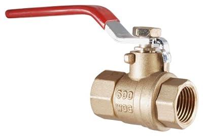 LDR 020 2232 3/8-Inch IPS Brass Ball Valve Full Port from LDR Industries