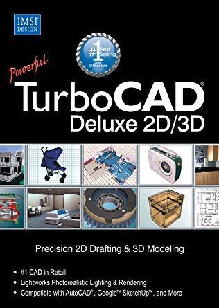 Software : TurboCAD v.19.0 Deluxe
