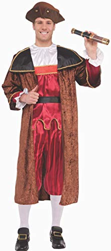 Forum Novelties Men's Christopher Columbus Costume, As Shown, One -
