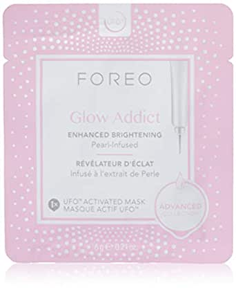 FOREO Glow Addict UFO-Activated Mask, 6g (Pack of 6)