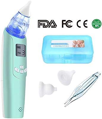 Aspirador nasal eléctrico Deyace, aspirador nasal de 3 fuerzas ...