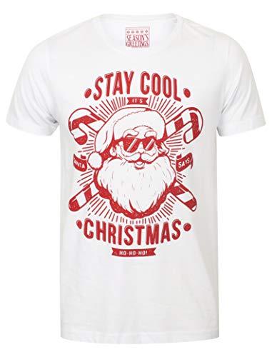 T Noël Hommes shirt Greetings Cool Nouveauté Pour De Season's 7wq5HSnzn
